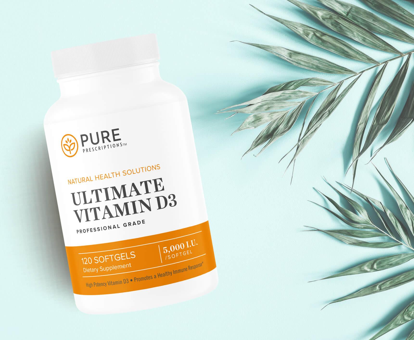 5,000 IU Vitamin D