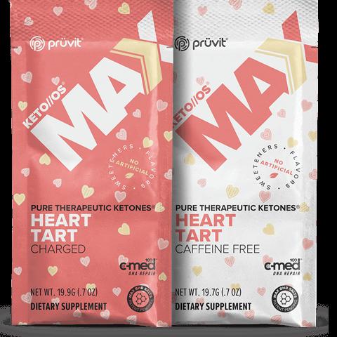 KETO OS Max 20 Pack Heart Tart