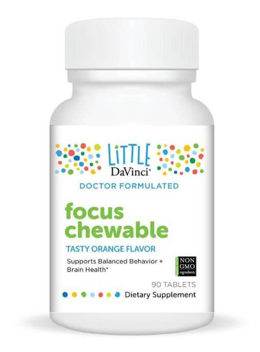FOCUS Chewable 90 Chewable Tablets by DaVinci Labs