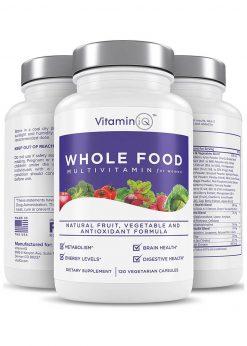 VitaminIQ Conceive Women's Fertility Supplements, Hormonal Balance, Ovulation Aid & Fertility Enhancer with Natural Chasteberry, Myo-Inosito & CoQ10, Vegetarian Capsules
