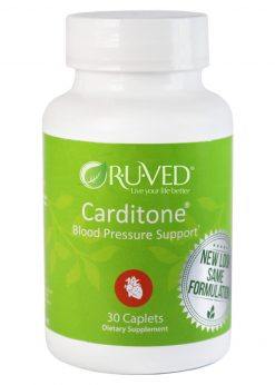 Carditone - 30 Caplets by Ruved