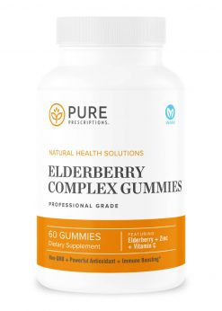 Elderberry Complex Gummies by Pure Prescriptions