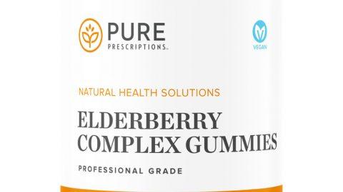Elderberry Complex Gummies by Pure Prescriptions