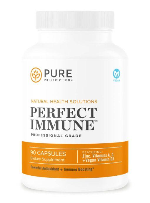 Perfect Immune by Pure Prescriptions