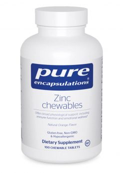 Zinc chewables by Pure Encapsulations