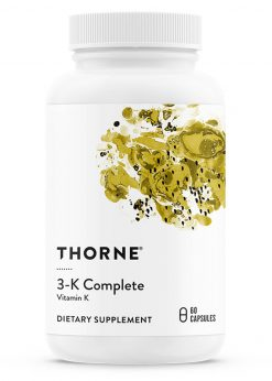 3-K Complete by Thorne Research