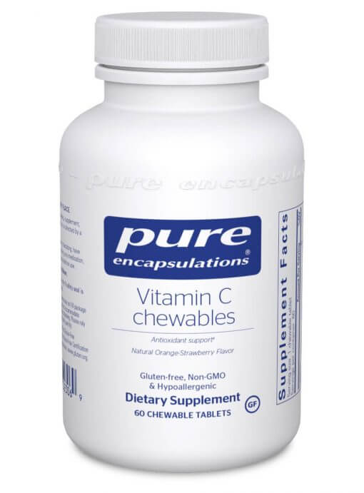 Vitamin C chewables Pure Encapsulations