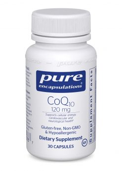 CoQ10 120mg 30 Capsules Pure Encapsulations