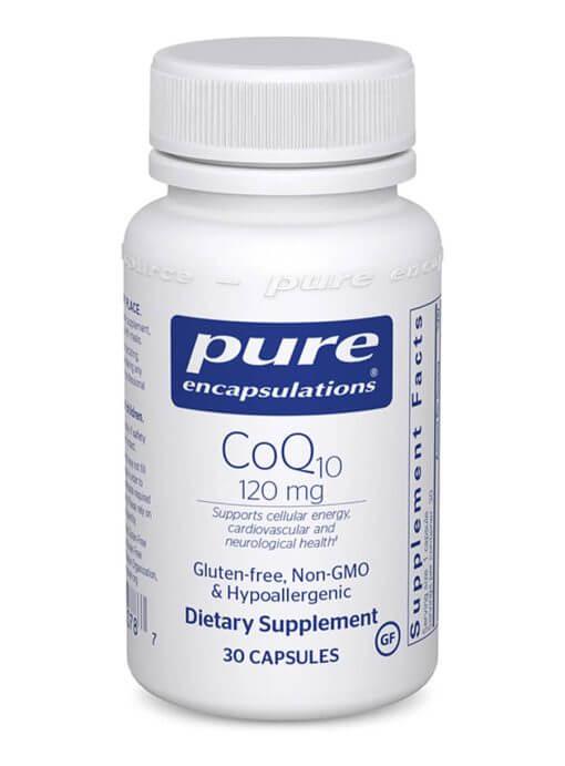 CoQ10 120mg 30 Capsules Pure Encapsulations