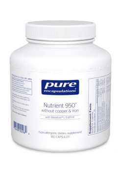 Nutrient 950® 180 Capsules w/out Copper and Iron