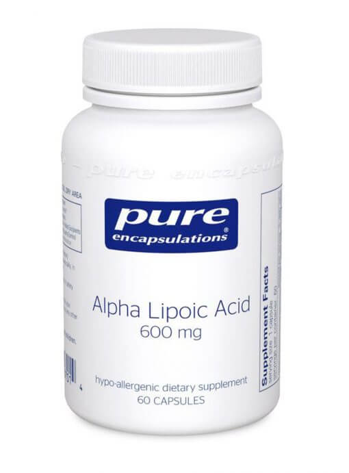 Alpha-Lipoic Acid 600mg