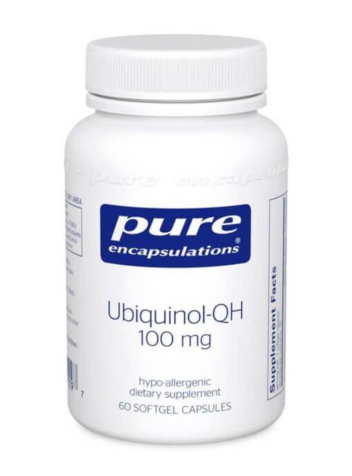 Ubiquinol-QH 100 mg 60's