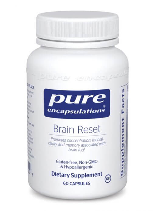 Brain Reset by Pure Encapsulations